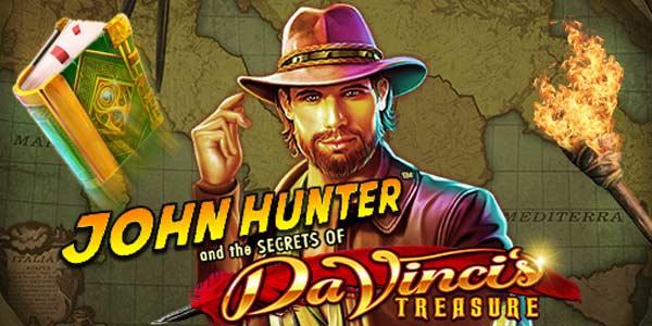Judi Slot John Hunter Da Vincis Treasure