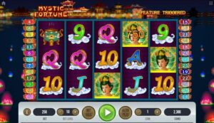 fitur slot mystic fortune