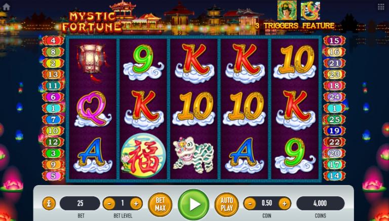 Dapatkan Keberuntungan Bermain Slot Mystic Fortune